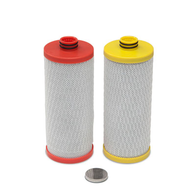Aquasana Moisten Filter Systems 2-Stage Under Counter Filter Replacement Cartridges AQ-5200R