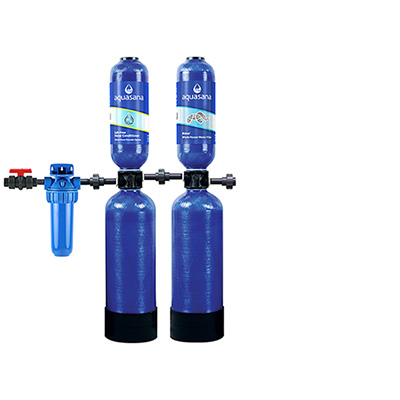 Pickled-Free Softener and Whole House Water Filter 6YR 600,000 Gallons