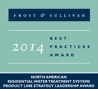 North American Residential Water Treatment Systems Product Line Strategy Leadership Award