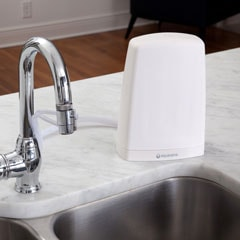 another view of the Countertop Water Filter - White