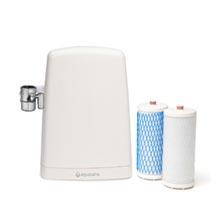 Countertop Water Filter - White