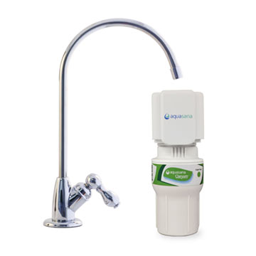 Single-Stage Under Counter Water Filter - Chrome