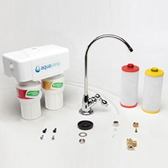 select a faucet finish no new faucet - Under Sink Water Filter
