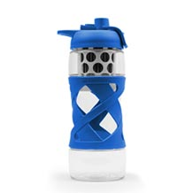 Plastic Water Bottle with built-in filter