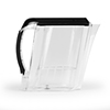 powered water filtration - black pitcher profL
