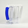 powered water filtration - white pitcher 3qtrL