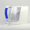 powered water filtration system - white pitcher 3qtrL