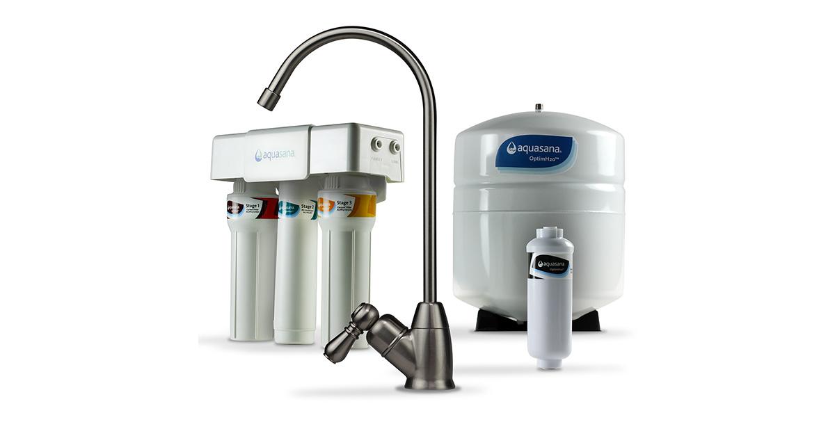 Reverse Osmosis Under Counter Water Filter Aquasana