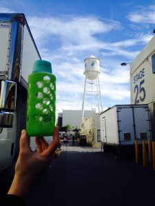 Bottle on the Paramount lot