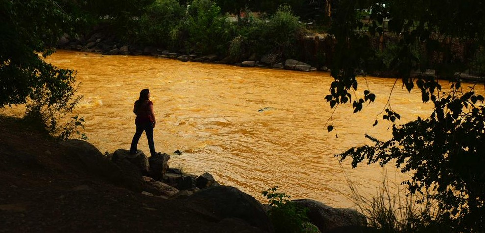 The Animas River, Aug. 6, 2015
