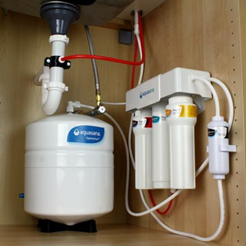 Reverse Osmosis under counter